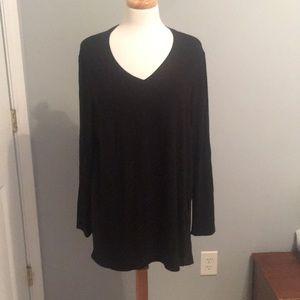 NWT Chico's Black Knit Tunic